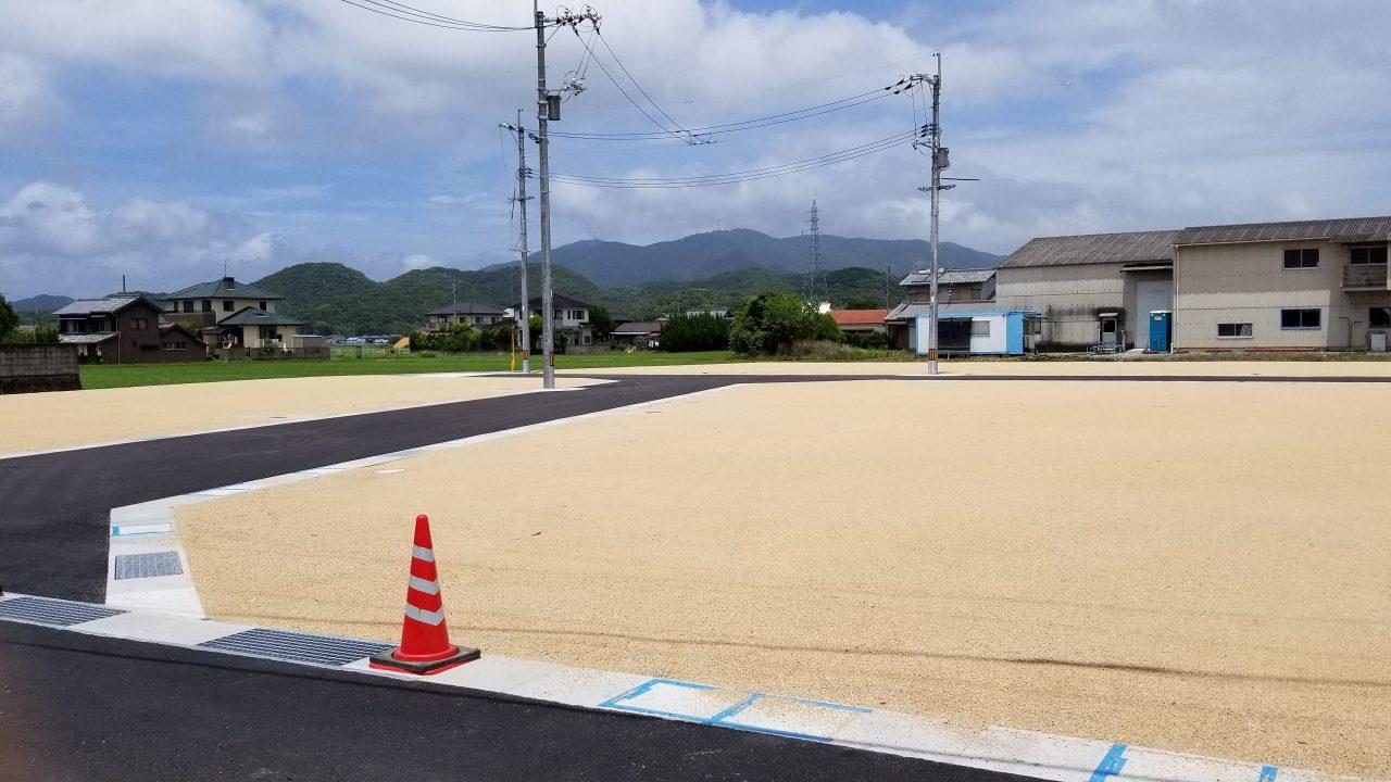 全10区画の中規模分譲地が長船町福里に登場!