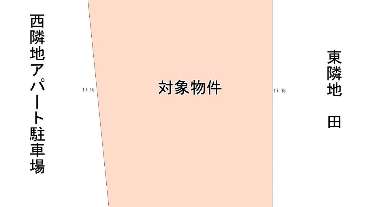 ハピーズ国府市場店まで約250m!祇園では希少な市街化区域の南道路!