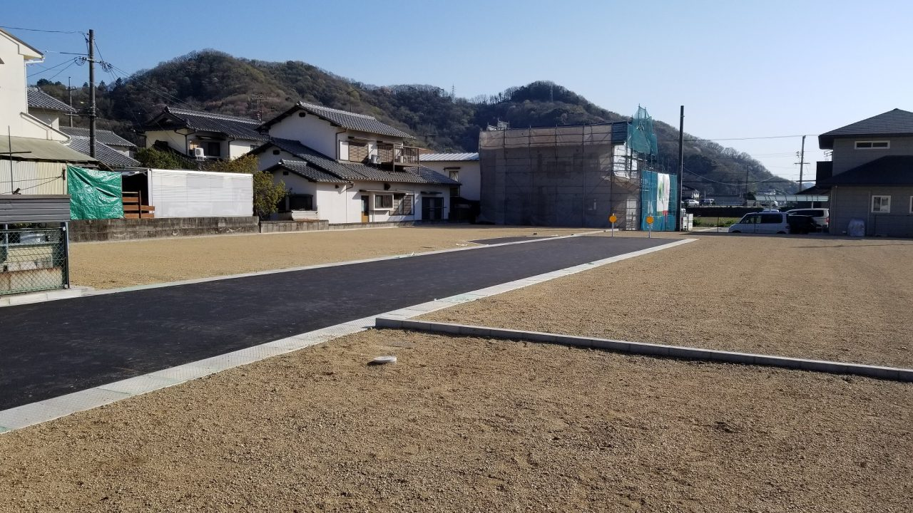 玉野市槌ヶ原新規分譲地 岡山へのアクセスの良い立地環境