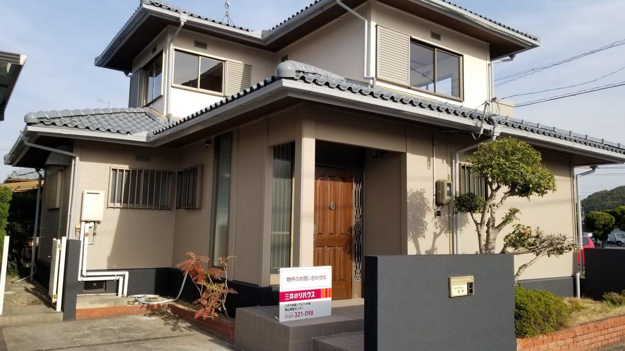 岡山市中区乙多見再生中古住宅が登場!