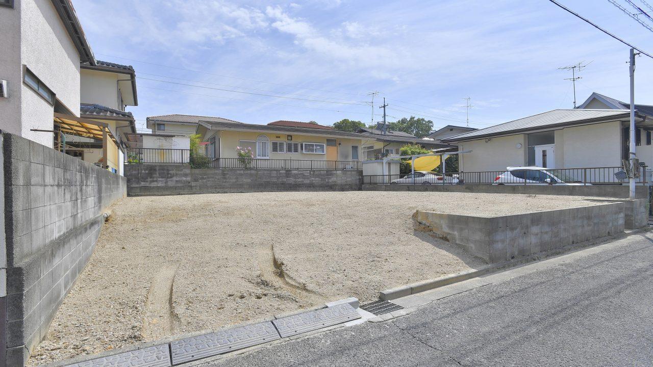 『庄新町』建築条件無の売り土地が登場!お求めやすく負担金等もかかりません。