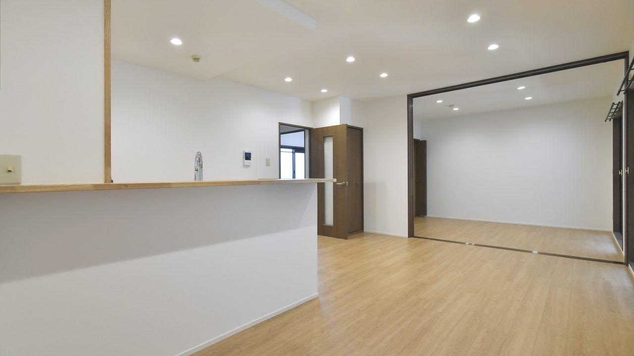 『岡山市北区青江Ⅱ』内装設備フル改装済!1階専用庭付き3LDKの利便性の高いお部屋です☆